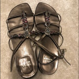 Ann Moore Shoes Sparkle Sandals Poshmark